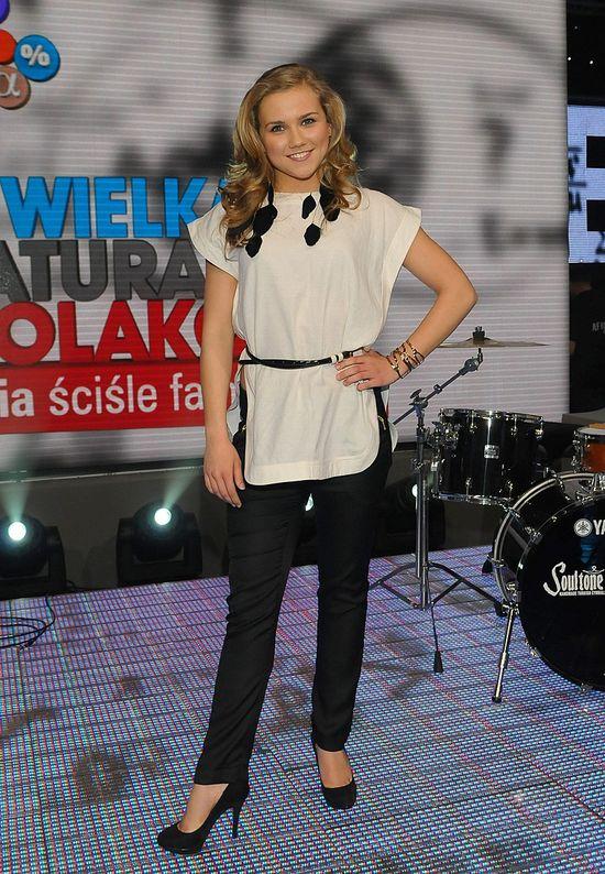 Agnieszka Kaczorowska lansuje si� w butiku (FOTO)