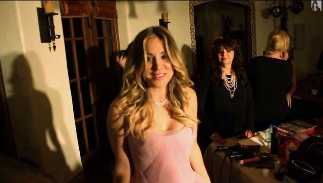 Kaley Cuoco pokaza�a video z przygotowa� do �lubu (VIDEO)