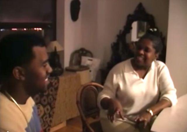 Jest wzruszające video Kanye Westa z mamą sprzed lat (VIDEO)