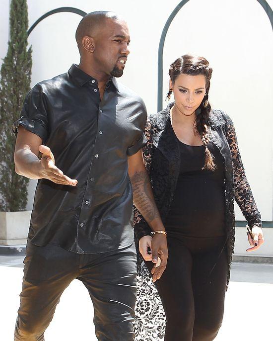 Kim Kardashian błaga Kanye, by przyszedł na baby shower