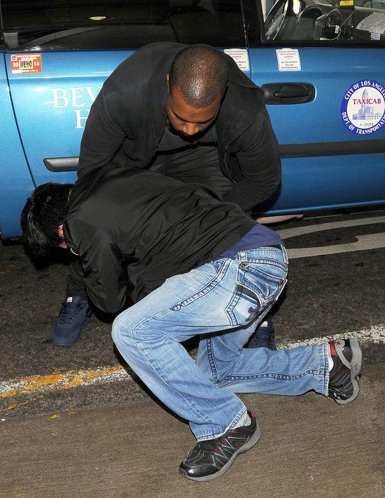 Kanye West POBIŁ paparazzi (FOTO)