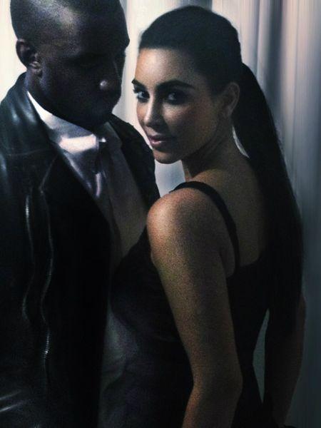 Kanye podarował Kim swoje srebrne cacko?