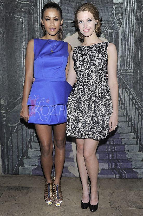 Ola Szwed i Julia Kamińska na premierze sztuki (FOTO)