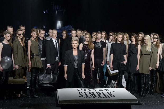 Dziewczyny z Top Model na pokazie marki Simple (FOTO)