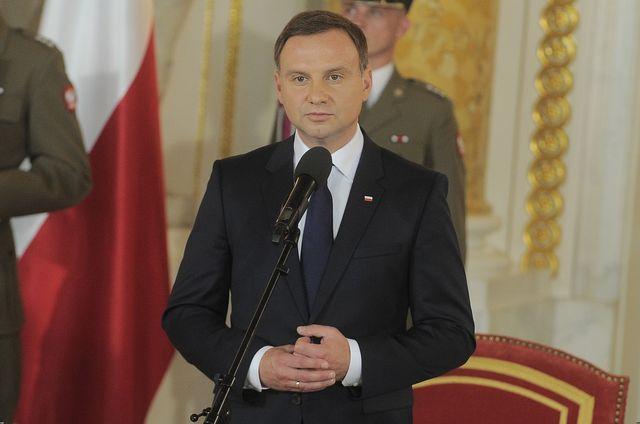 Prezydent Andrzej Duda wypowiada si� na temat ROZWODU z �on�!