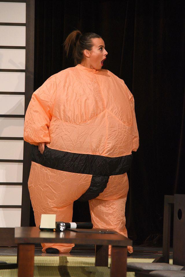 Anna Mucha wyglada jak zawodnik sumo!