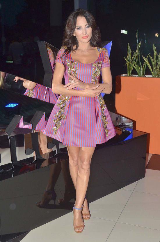 Justyna Steczkowska pokazuje swoje główne atuty na pokazie Bizuu (FOTO)