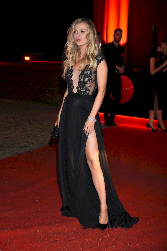 Joanna Krupa wzorowała się Angeliną Jolie na Balu Fundacji TVN?