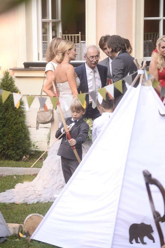 Na ślubie Małgorzaty Rozenek i Radka Majdana zjawiła się policja!