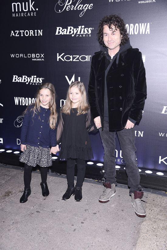 Piotr Rubik pochwalił się córeczką na pokazie Kupisza (FOTO)