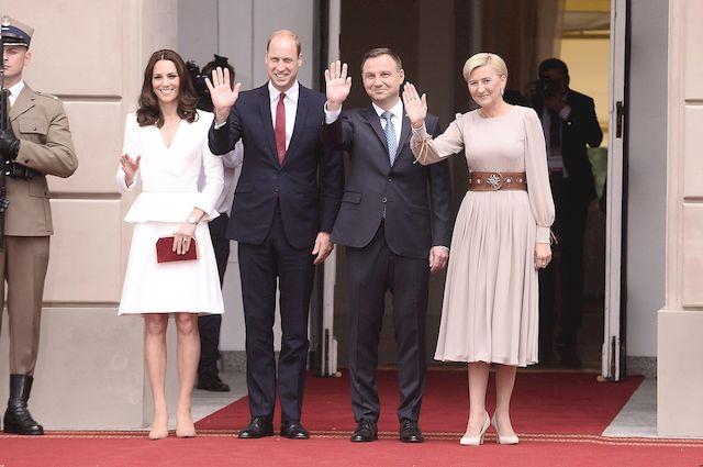 Księżna Kate i książe William ZACHWYCENI Polską! (ZDJĘCIA + VIDEO)