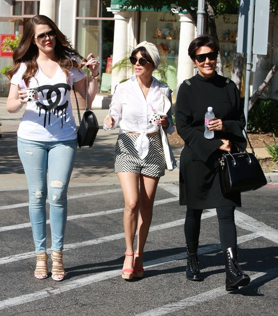 Klan Kardashianów na zakupach (FOTO)