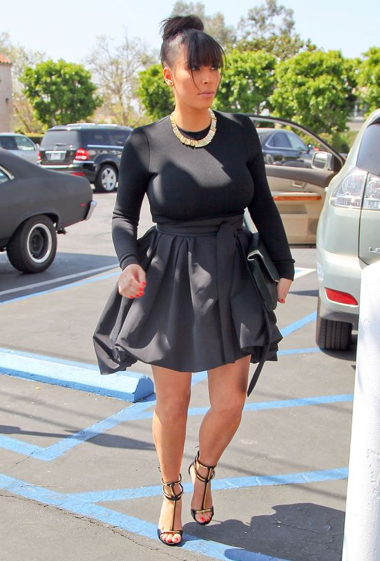 Kim Kardashian bez stanika! (FOTO)