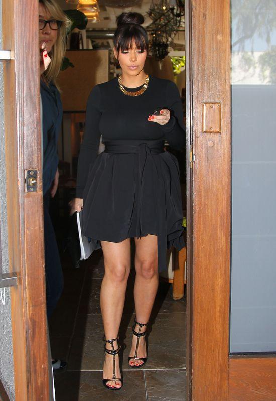 Kim Kardashian twierdzi, że waży 63 kg!