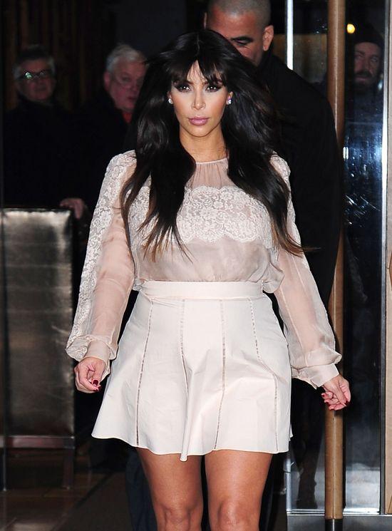 Kim Kardashian: kolejny dzień kolejna modowa wpadka (FOTO)