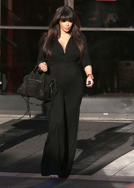 Coraz więcej naburmuszonej Kim Kardashian