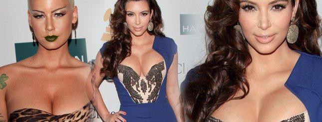 Kardashian i Rose konkurują na dekolty (FOTO)