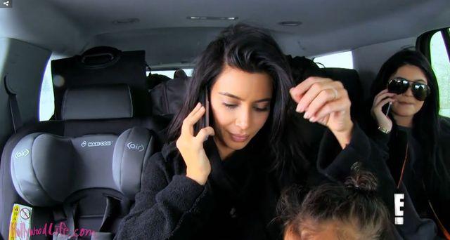 Kim Kardashian po wypadku płakała jak bóbr (VIDEO)