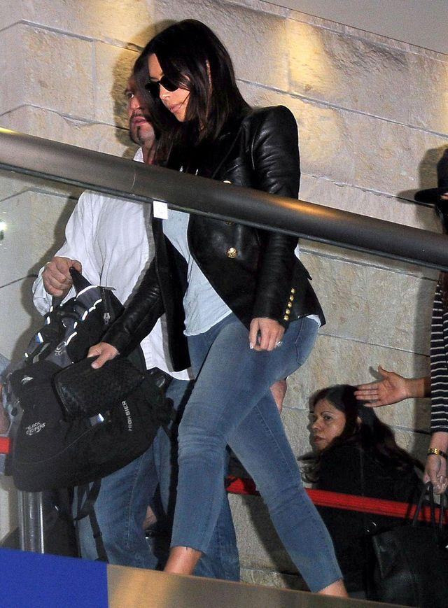 Kiki, Koko i Kourtney Kardashian gotowe do odlotu (FOTO)