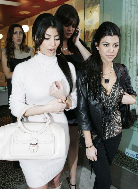 Kourtney najbardziej naturalną z sióstr Kardashian? (FOTO)