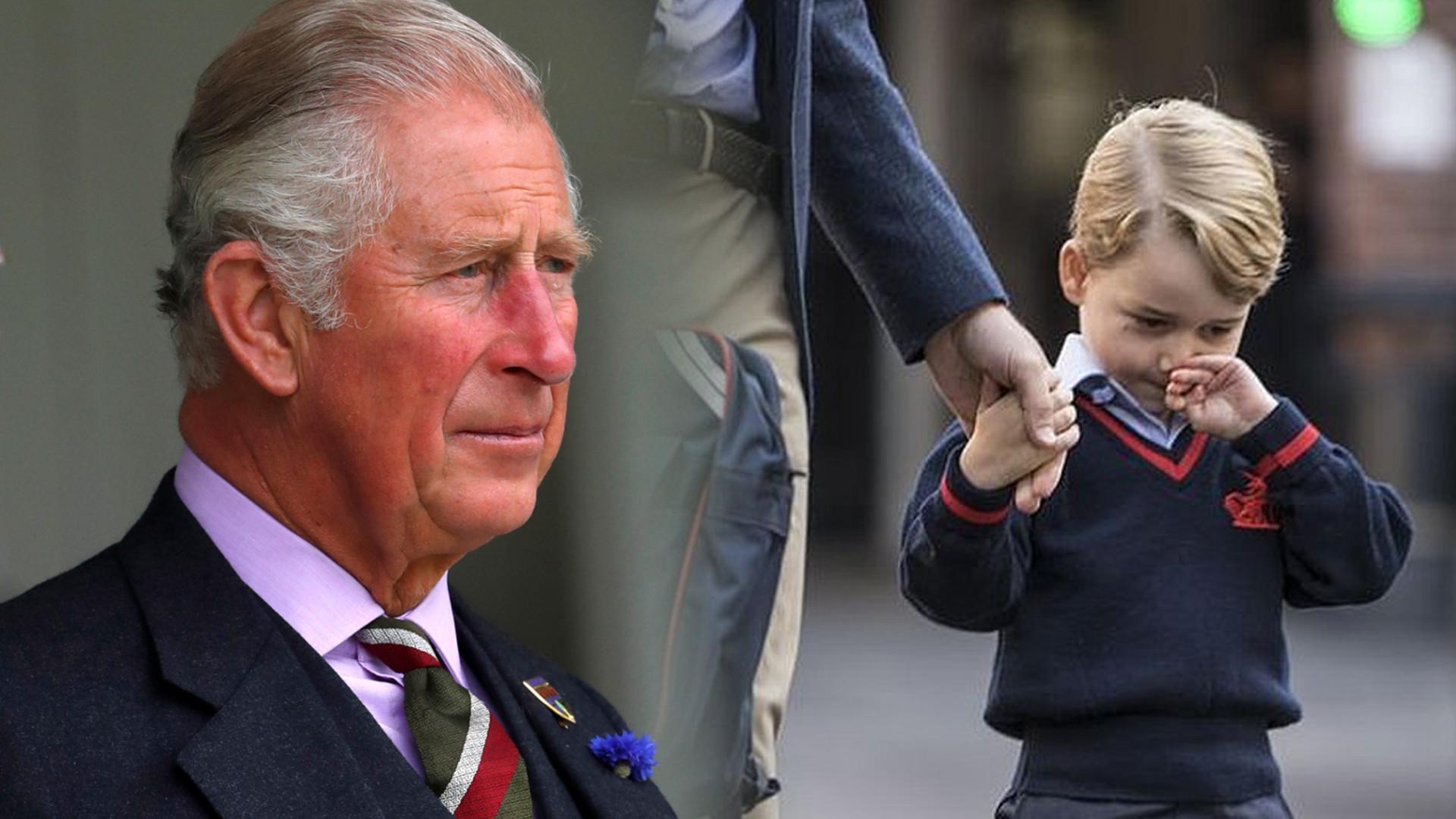 Książę Karol WOLI księżniczkę Charlotte od księcia George'a