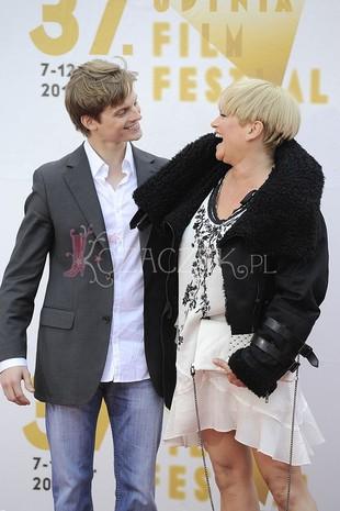Kasia Figura zabrała syna na festiwal do Gdyni (FOTO)