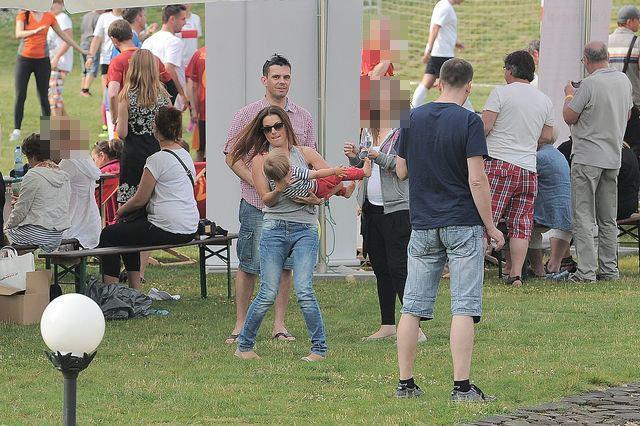 Kasia Glinka szaleje z synkiem (FOTO)