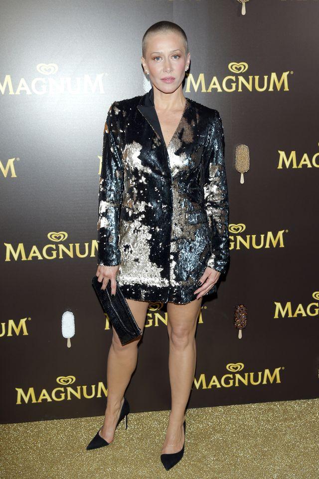Jakie ona ma chude nogi! Kasia Warnke nie tylko zgoliła włosy do nowej roli