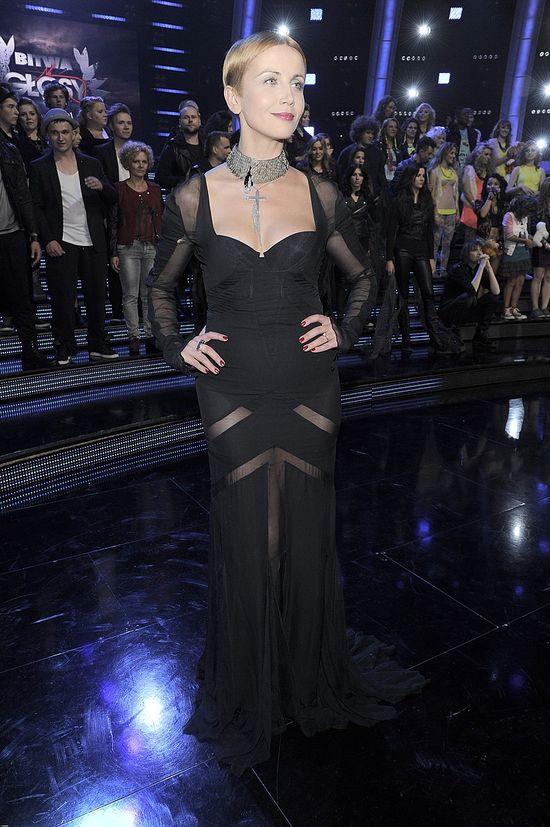 Kasia Zielińska i Miley Cyrus w takich samych sukienkach