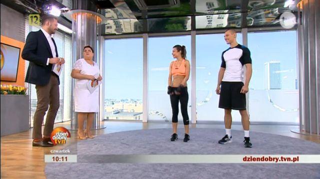 Kasia Kępka kolejną Ewą Chodakowską?  (VIDEO)