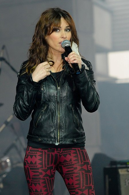 Katarzyna Pietras (córka Kozidrak) na koncercie charytatywnym