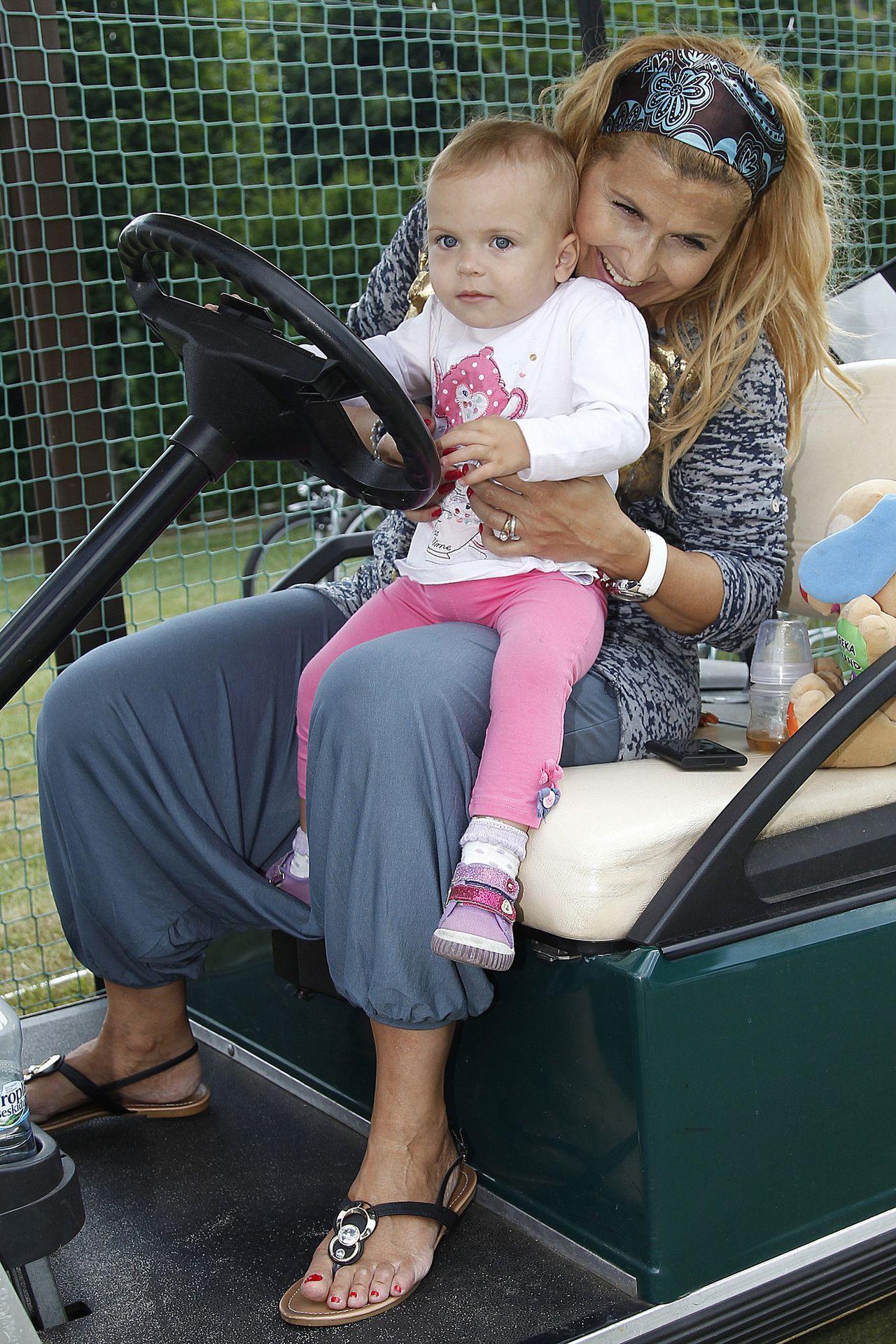 Kasia Skrzynecka z córką Alikią, która niedługo skończy 7 lat (ZDJĘCIA)