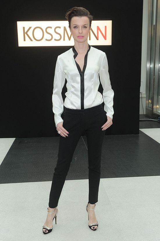 Katarzyna Soko�owska pr�bowa�a si� w modelingu