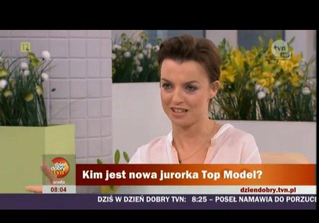 Pierwszy wywiad z nową jurorką Top Model