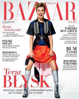 Kto prowokuje na okładce nowego Harper's Bazaar? (FOTO)