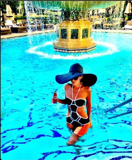 Katarzyna Sowińska podbija Las Vegas (FOTO)