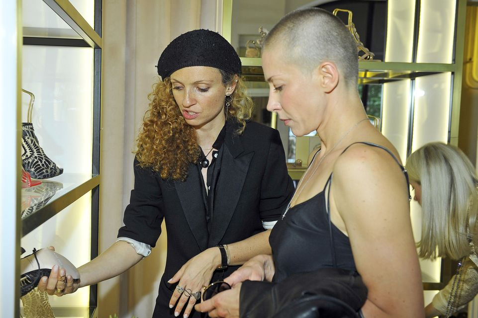 Kasia Warnke z ogoloną głową bryluje na salonach (ZDJĘCIA)