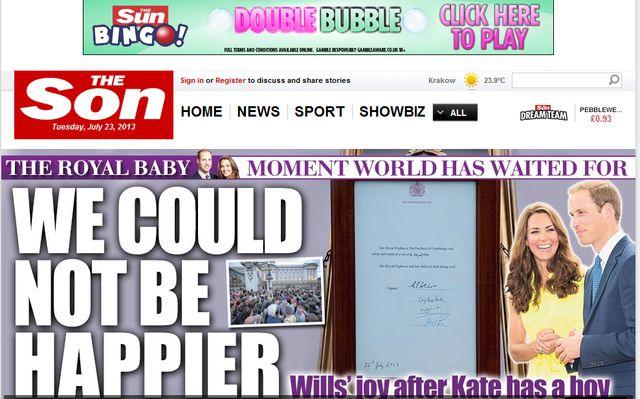 Co powinniście wiedzieć o synku księżnej Kate?