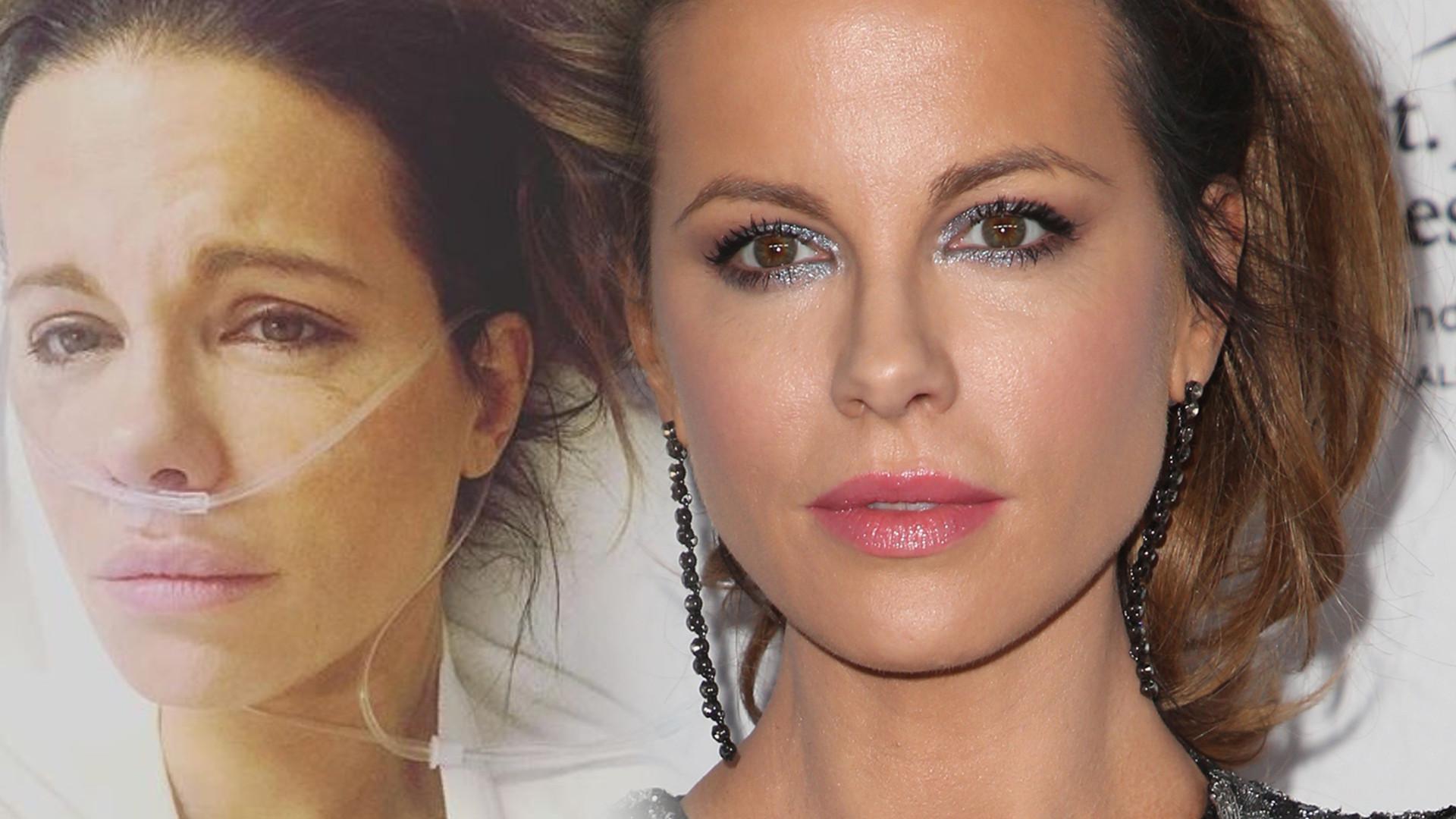 Zapłakana Kate Beckinsale pokazała zdjęcie ze szpitala