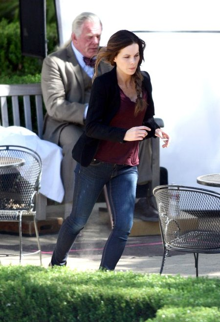 Kate Beckinsale i Nick Nolte na planie nowego filmu FOTO
