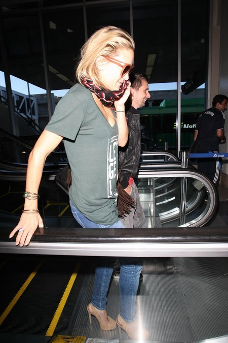 Zamaskowana Kate Hudson z narzeczonym (FOTO)