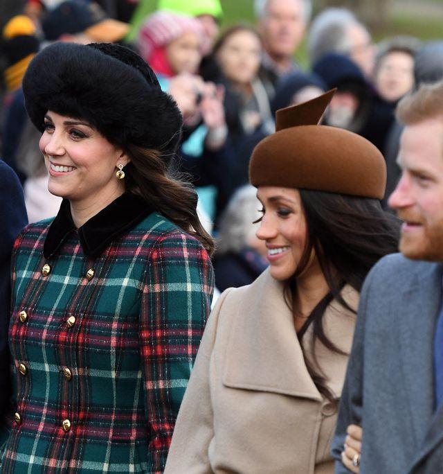 Kate i Meghan na świątecznym nabożeństwie (ZDJĘCIA)
