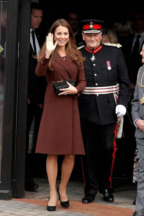 Jak księżna Kate dba o linię w ciąży?
