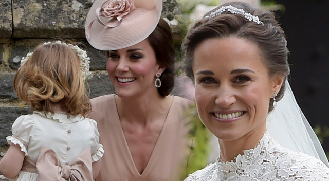 Suknia ślubna Pippy Middleton i kreacja Kate Middleton – DUŻO ZDJĘĆ!
