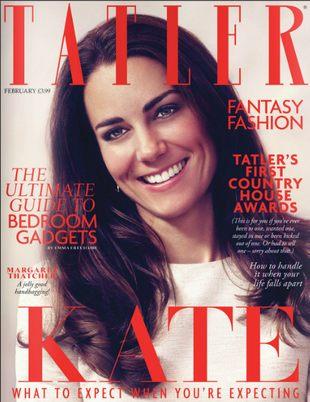 Magazyn Tatler chce, by księżna Catherine była w ciąży FOTO