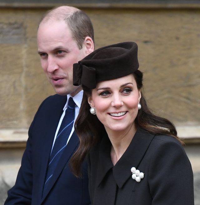 Ostatni raz widzimy księżną Kate z ciążowym brzuszkiem? (ZDJĘCIA)
