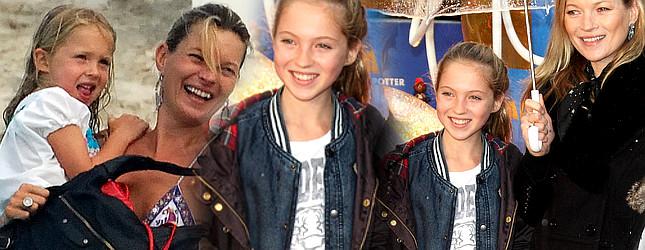 Tak córka Kate Moss wyglądała kilka lat temu… (FOTO)