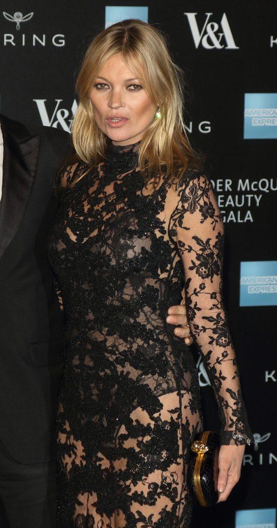 Kate Moss już tak nie wygląda (FOTO)