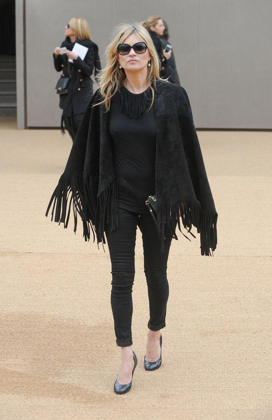 Kate Moss pr�bowa�a ukry� zmarszczki? (FOTO)