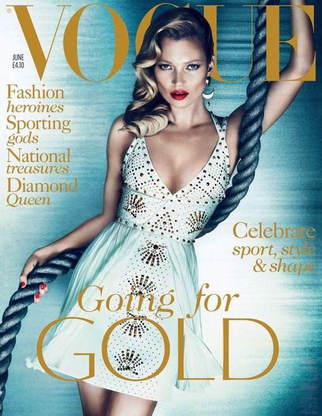 Kate Moss młodsza o 10 lat